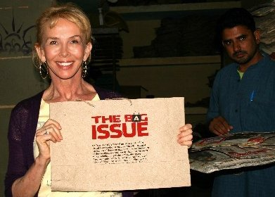 Trudie Styler - The Bag Issue